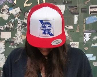 Life Has A Way Baseball Hat