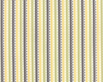 Pepper and Flax - Lacy Stripe in Multi: sku 29046-11 cotton quilting fabric by Corey Yoder for Moda Fabrics