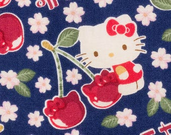 Hello Kitty  fabric by Sanrio printed by Kokka SK161