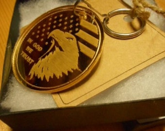 soldier gifts,veterans gifts, eagle key chain,USA,laser cut, keychains,Eagles,American