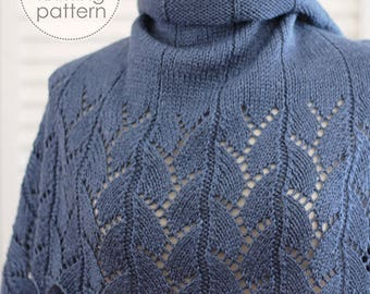 Knitting Pattern Scarf. Knitting Pattern Shawl. Knitting Pattern Wrap. Knitted Scarf. Knitting Accessory. Lace Shawl. Rectangular Shawl.