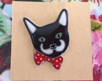 Mo Cat Pin