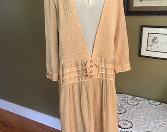 1920's Silk Day Dress