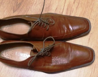 Classic Leather Mens Vintage Brown Shoes US 11.5 UK 10.5 EU 45, Brown Leather Mens Shoes