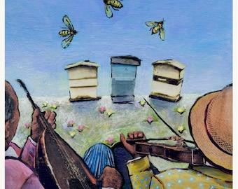 Springtime Serenade - Giclee Print