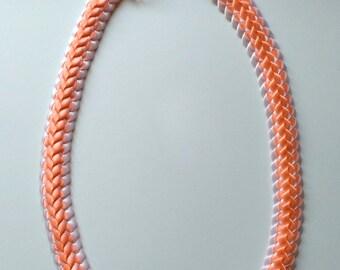 Double Braided Ribbon Lei