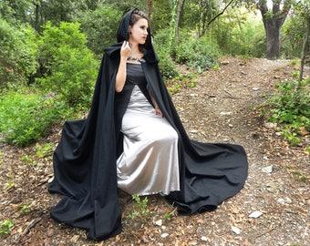 Medieval cloak, Hooded cloak, Wool cloak, Medieval costume