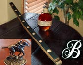 1 NARROW / SLIM Blanton's bourbon barrel stave display whiskey cork stopper horses Blantons skinny version