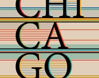 City Pride / Chicago / New York -  Art Print