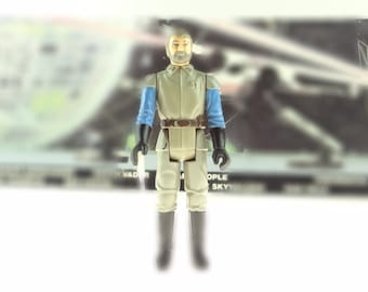 Star Wars General Madine Action Figure 1983 The Return Of The Jedi