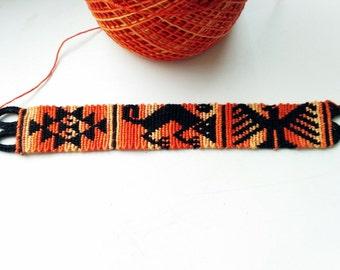 FREE SHIPPING Friendship Bracelet  / Boho Gypsy Hippie Bracelet / Knotted handmade bracelet /