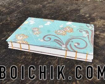 Yellow Butterflies - Coptic Journal - Sketchbook - Grimoire