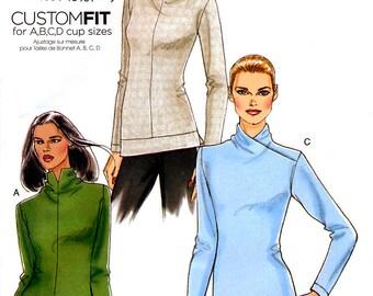 Vogue V8616 Sewing Patter for Misses' Top - Uncut - Size 14, 16, 18, 20, 22