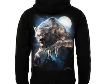 Werewolf Zipper Hoody