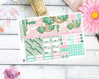 St Patricks Monthly Kit for your TN A6 Annie Plans Inserts