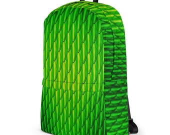 Green Dragon Scales Backpack