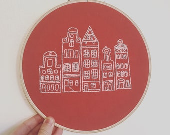 Cityscape- Embroidery