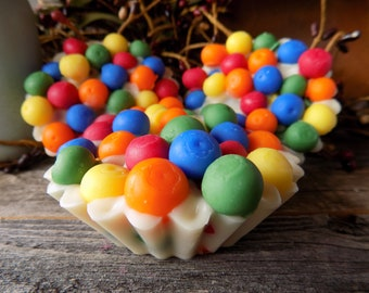 Birthday Cake Jumbo, 2oz Wax Tart, Adorable Embeds