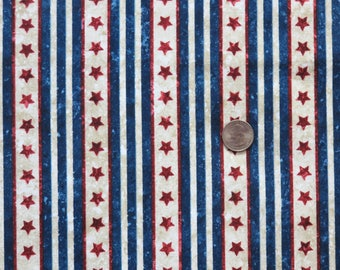 Stars and Stripes Stonehenge by Northcott Quilt of Valor Foundation