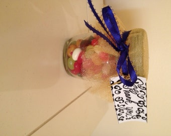 6 Jelly Belly Wedding Favors