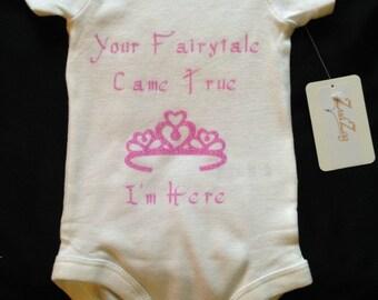 Princess Theme Baby - Baby Girl Clothes - Fairytale Infant Clothes - Cute Baby Clothes - Adorable Baby Clothes - Princess Baby Clothes