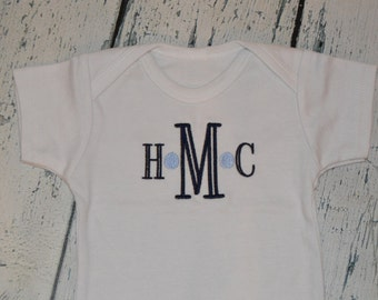 Personalized Shirt or bodysuit - Custom You choose Two Colors