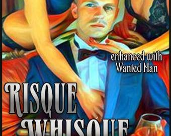 Risque Whisque w/ Wanted Man - Pheromone Enhanced Fragrance for Men - Love Potion Magickal Perfumerie - Pherotine 2018