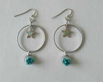 """Earrings """"Crown boreal 43"""""""