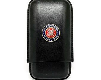 Coast Guard Cigar Case – Color