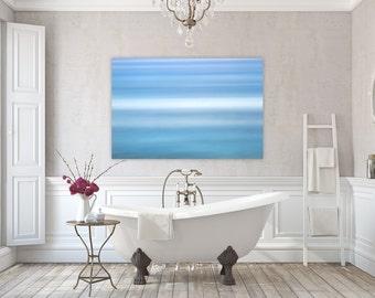 Aqua ~ East Matunuck, Abstract, Canvas, Wall Art, Photography, Interior Decor, Coastal Decor, Joules, Artwork, Blue, Aqua, Waves, Ocean, Art