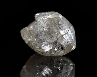 Genuine Diamond in display Box,0,03 ct,natural Diamond from Russia