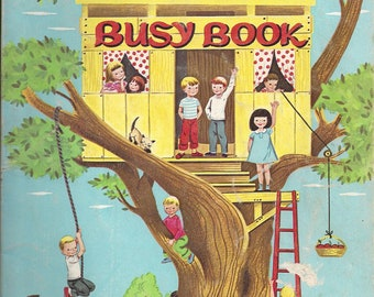 Vintage Funtime Busy Book, 1963, (Used)