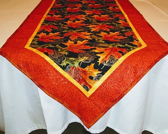 """51"""" x 20"""" - Changing Autumn Leaves Table Runner"""