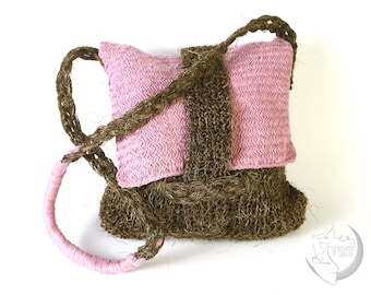 Cotton and Jute Woven bag