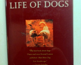 Vintage Dog Book Hidden Life of Dogs Animal Book