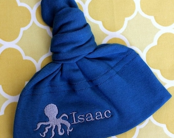 Personalized Octopus Hat - You choose the COLORS