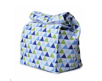 MTO Insulated lunch bag - Triangles
