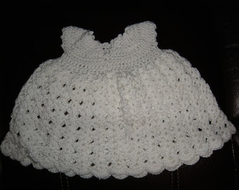 Gorgeous white dress for baby