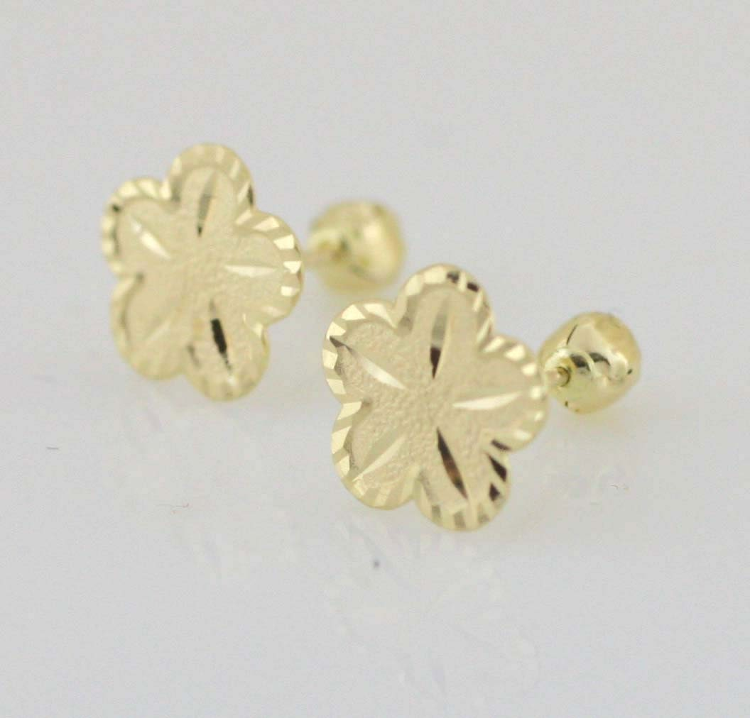princess stud invisible diamond earrings gold wh set cut