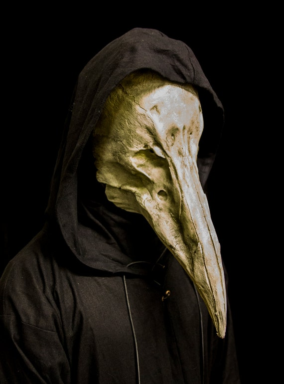 The Reaper white plague doctor mask