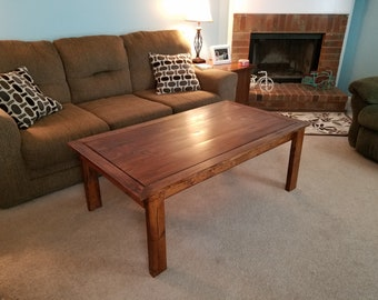 Coffee/Play Table with Removable Topper