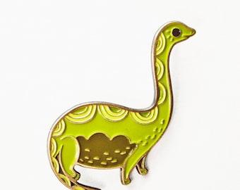 Dinosaur ENAMEL PIN dinosaur pin enamel pins, loch ness monster pin enamel lapel pin, nessie pin, dino, brontosaurus, dinosaur lapel pins