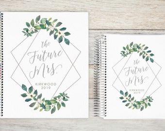 Wedding planner etsy custom wedding planner wedding planning guide wedding planner book bride to be present junglespirit Image collections