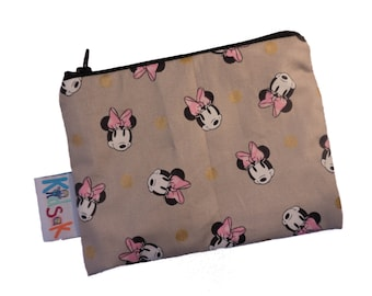 Minnie Mouse Reusable Snack Bag - Small