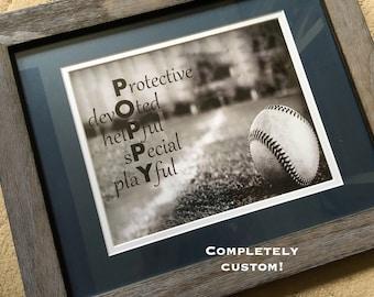 Custom artwork, Name artwork, Custom name print, Themed art print, Grandmother personalized gift, grandfather present, Mother's Day Gift