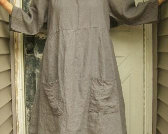 Swirly Neck Tunic Dress