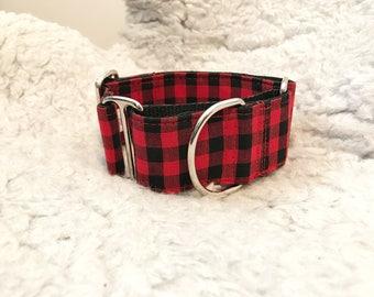 "Adjustable Martingale dog collar ""Buffalo"""