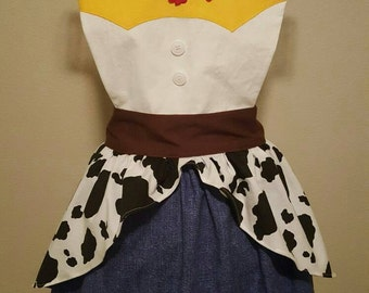 Disney Toy Story Jessie Apron- Adult