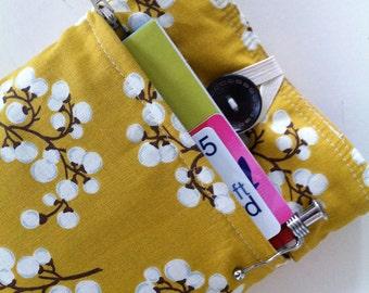 Kindle Fire Case - Kindle Fire Sleeve Padded Bonus Front Pocket - Modern Cherry Blossoms