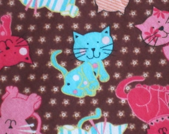 Colourful Cats & Kittens- Standard Pillow Case